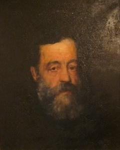 Portrait of Henry L. Fry, Woodcarver