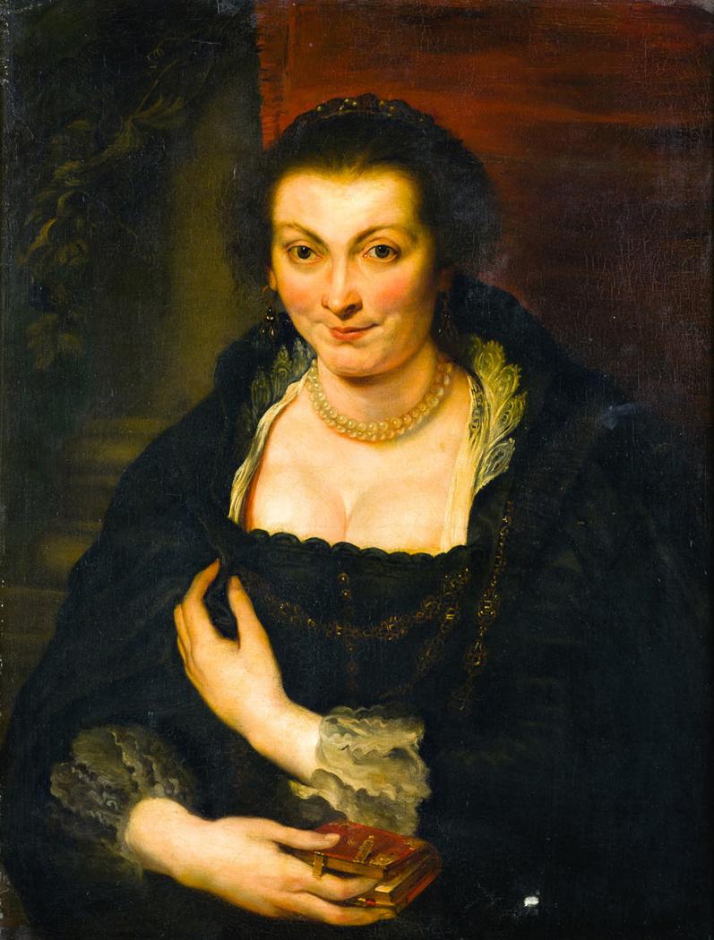 Portrait of Isabella Brant