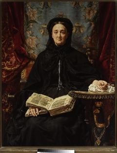 Portrait of Katarzyna Potocka née Branicka (1825–1907), wife of Adam