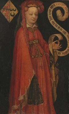 Portrait of Lysbeth van Duvenvoorde