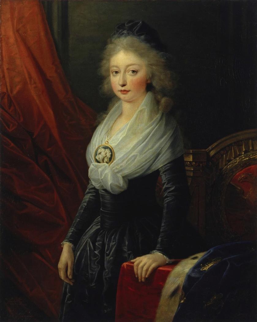 Portrait of Maria Theresia Charlotte of Bourbon
