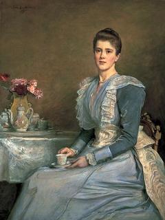 Portrait of Mary Endicott (d.1957), Mrs Joseph Chamberlain
