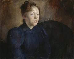 Portrait of Nenna Janson Nagel, b. Backer Lunde