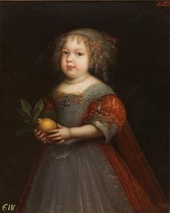 Portrait of Princess Marie Thérèse of France (1667–1672)