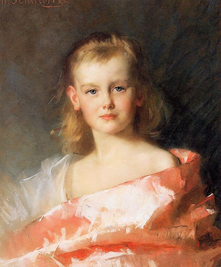 Portrait of Princess Wilhelmina