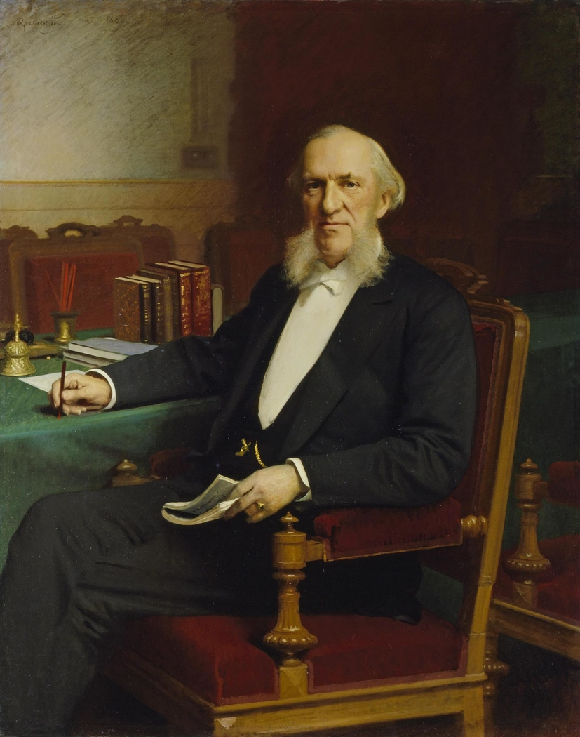 """Portrait of the Banker Yevgeny Lamansky"""