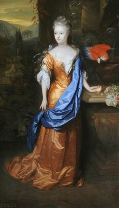 Portrait of The Honourable Mary Lowther (b. after 1665)