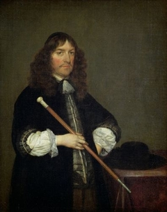 Portrait of the Mayor of Amsterdam Nicolaes Pancras (1622-1678)