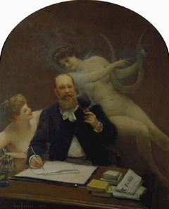 Portrait of the Poet Armand Sylvestre