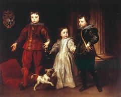 Portrait of three children of the Spinola family