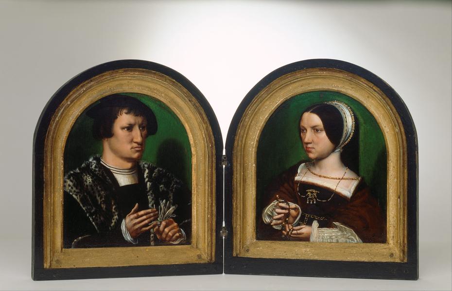 Portraits of Cornelius Duplicius de Scheppere and his ...