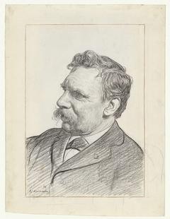 Portret van Albert Neuhuys