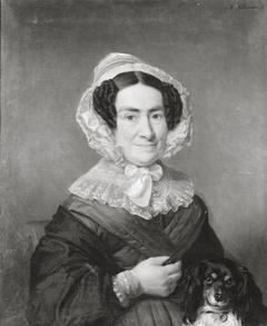 Portret van Maria Henriette van der Muelen (1785-1855), echtgenote van Carel Joseph van der Muelen