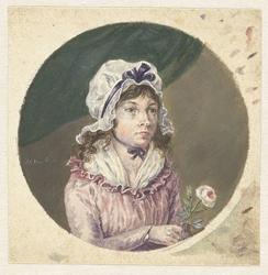 Portret van Maria Margaretha van Os
