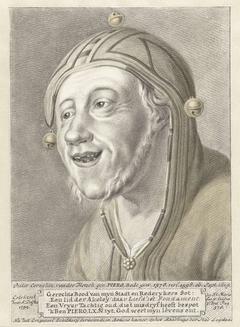 Portret van Pieter Cornelisz. van der Morsch