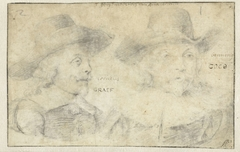 Portretten van Cornelis de Graeff en Frans Banningh Cocq