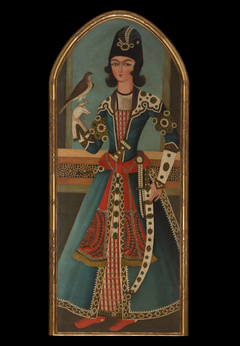 Prince Holding a Falcon