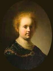Rembrandt's sister Liesbeth