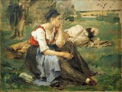 resting Peasants