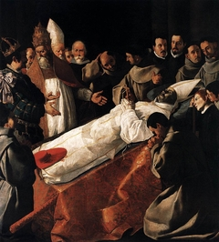 Saint Bonaventure's Body Lying in State