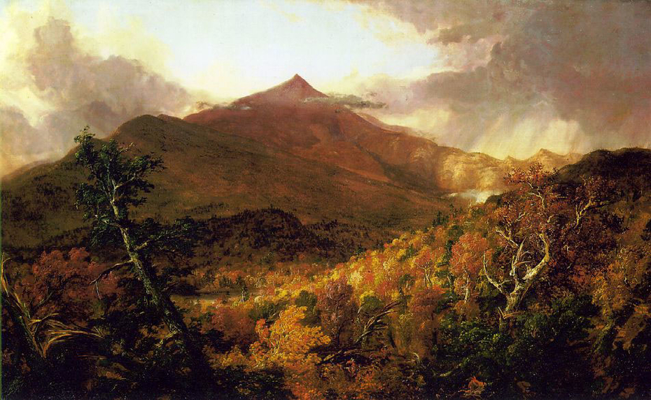 Schroon Mountain, Adirondacks, Essex County, New York, after a Storm