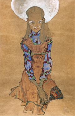 Seated Girl (Poldi Lodzinsky])
