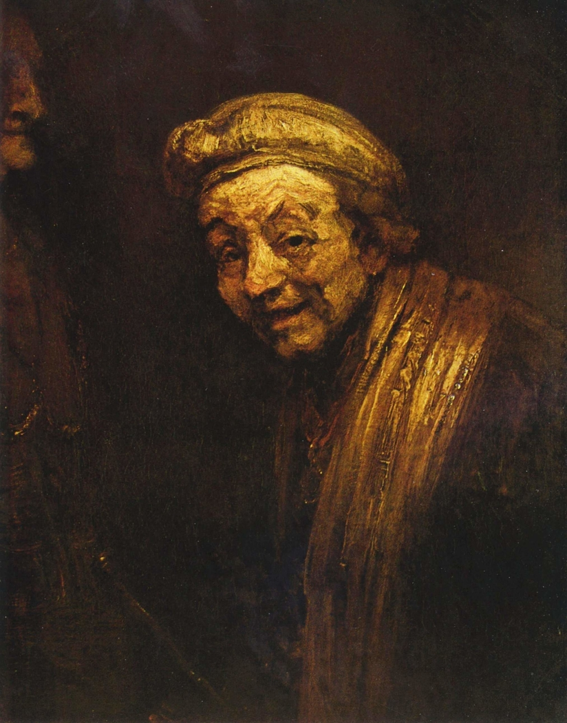 Self-portrait as Zeuxis Laughing