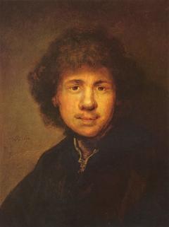 Self-portrait (free after 1629 self-portrait in Munich)