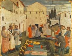 Sepulchring of Saint Cosmas and Saint Damian