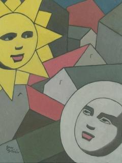 Serie Soles y Lunas. Sol y Luna I