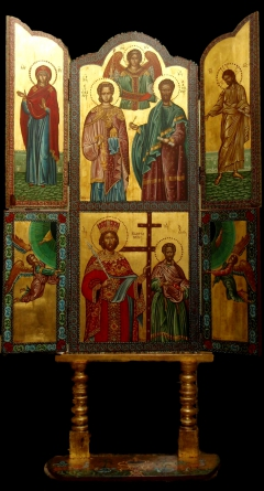 Shrine_St. Stephan_Saints Kosmas & Damianos_St. Constantine