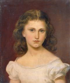 Sidonie Schrotzberg, die Tochter des Künstlers