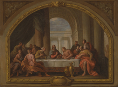 Sketch for 'The Last Supper,' St. Mary's, Weymouth