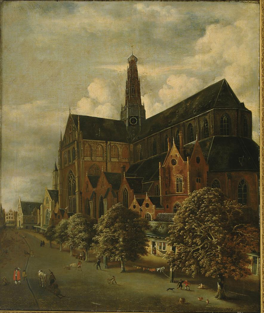 St. Bavokerk from the southeast