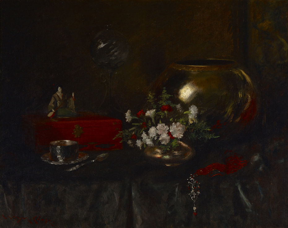 Still Life (Brass Bowl)