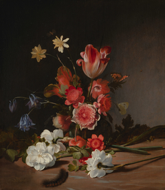 Still Life with a Bouquet in the Making