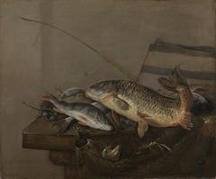 Still life with fish