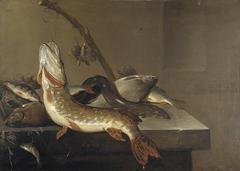 Stilleven met vis