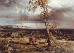 Storm on Lake Näsijärvi