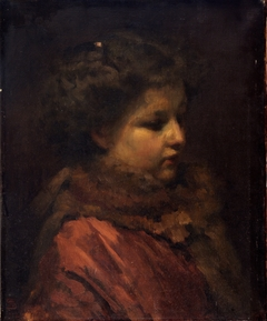 Study Head of a Young Girl