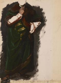 """Study of Władysław Jagiełło's Garment to the Painting """"The Oath of Queen Jadwiga"""""""