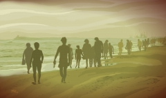 "Summertime (serie) ""Paseantes nº5"""