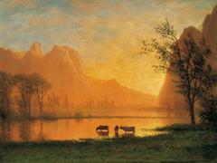 Sundown at Yosemite