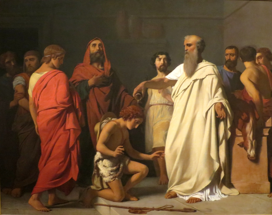 The Anointing of David by Samuel