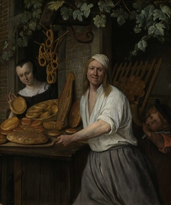 The Baker Arent Oostwaard and his Wife, Catharina Keizerswaard