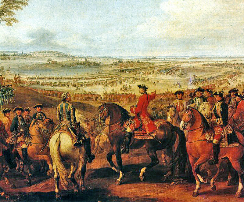 The Battle of Lauffeldt