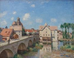 The Bridge at Moret