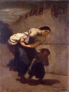 The Burden (The Laundress)