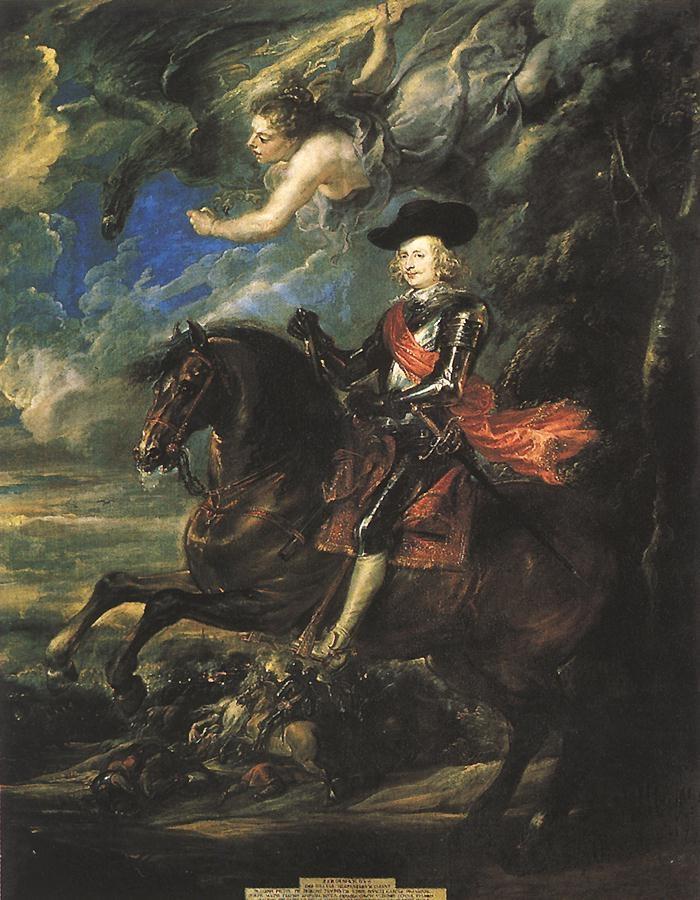 The Cardinal-Infante Don Fernando de Austria, at the Battle of Nördlingen
