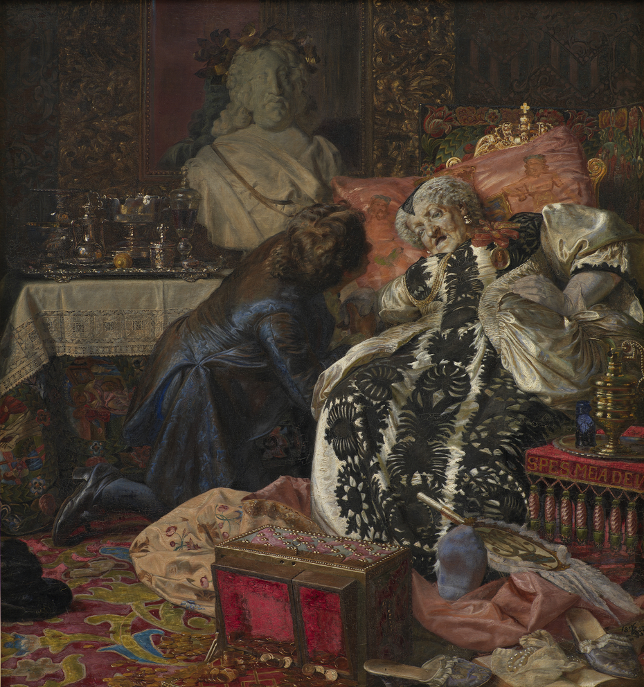 The Death of Queen Sophie Amalie